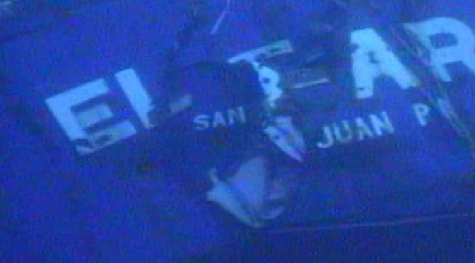 ISC Team helps discover black box from El Faro shipwreck