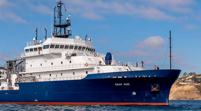 Introducing the Newest U.S. Academic Research Vessel: R/V Sally Ride