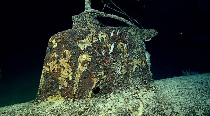 Okeanos Explorer Dives on Pearl Harbor Mini Subs